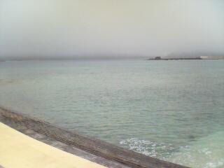 霧の中。。