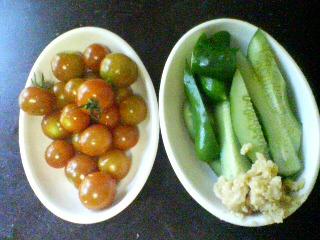 夏のお野菜サラダ