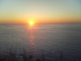 イブの夕陽